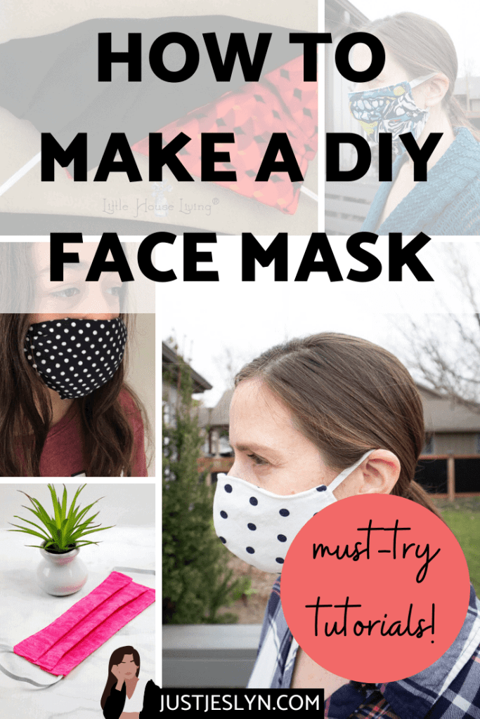 How to Make a DIY Face Mask - Easy Tutorials You Should Definitely Try | justjeslyn.com