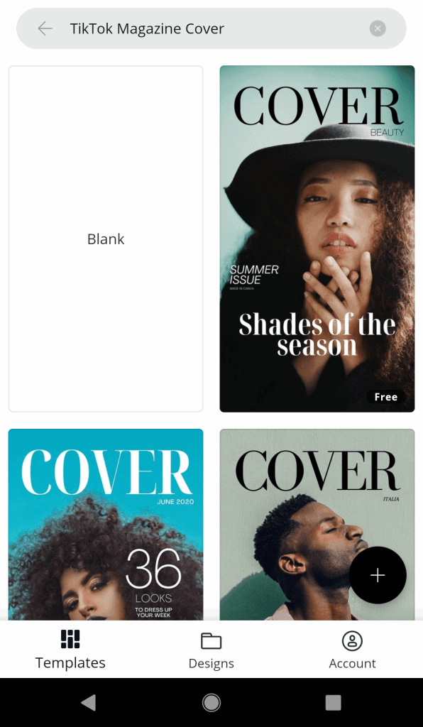 Vogue Cover Template for TikTok (Customize in Seconds!) | Just Jes Lyn