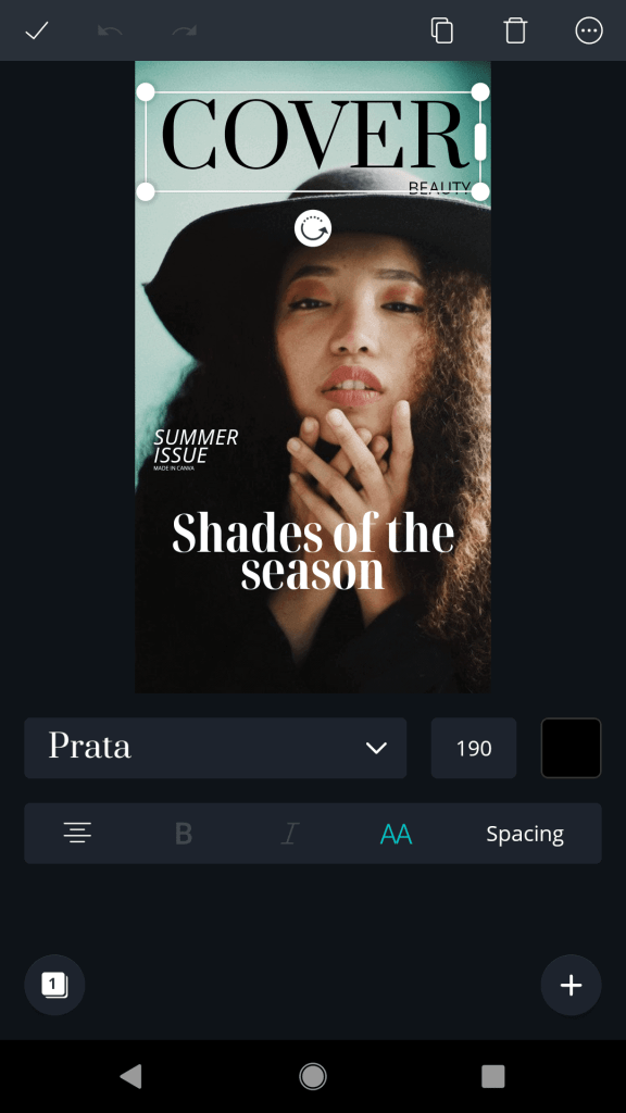 Vogue Cover Template for TikTok (Customize in Seconds!)   Just Jes Lyn