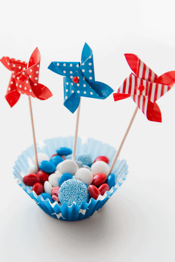 Cute pinwheels will add a festive touch to your party! - Just Jes Lyn