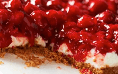 Easy No-Bake Cherry Cheesecake Dessert