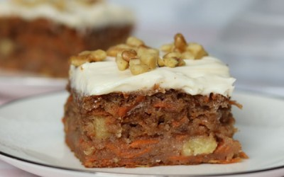 Light And Delicious Carrot Cake