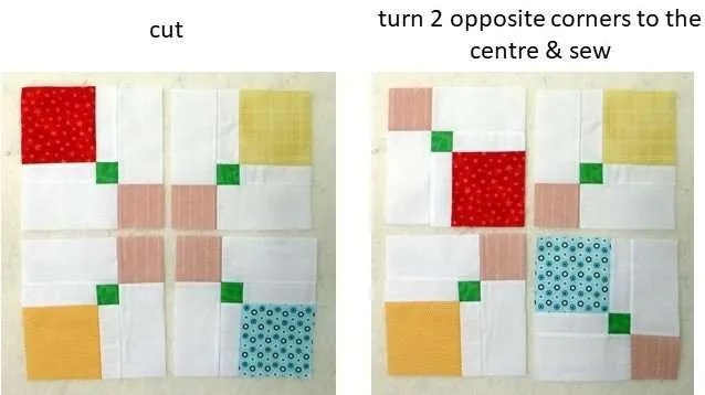 disappearing 9 patch quillow pattern Archives - Just Jude Designs ...