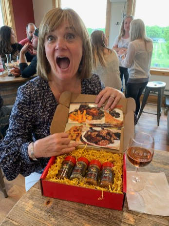 Deb F with BIrthday Spice Box