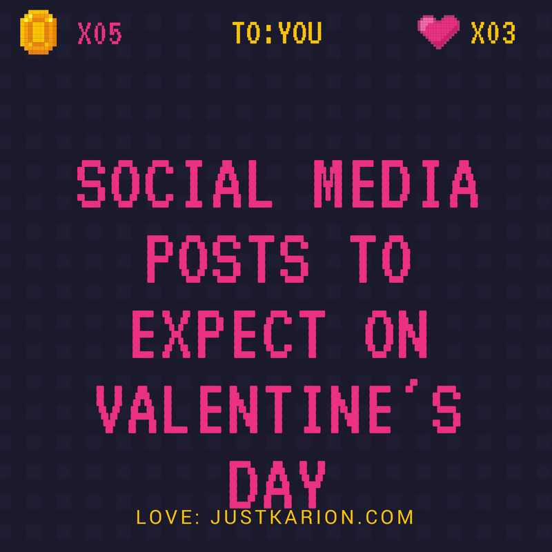 Social Media Posts to Expect on Valentine's Day