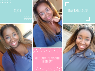 Keep Calm It's My 27th Birthday