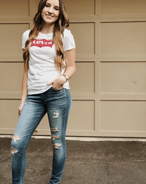 Back to School Outfit with Levi's