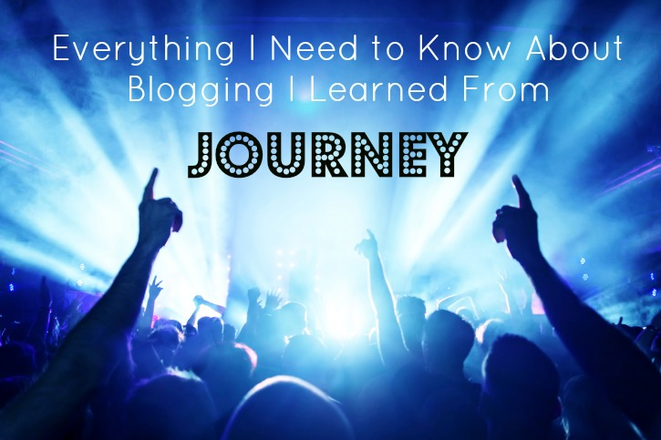 What Journey Taught Me About Blogging