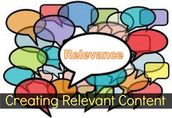 creating relevant content