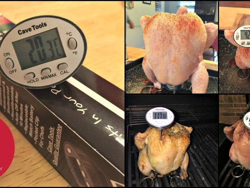 Chef Tools Instant Read Digital Thermometer is a perfect gift for the grill master on your list!