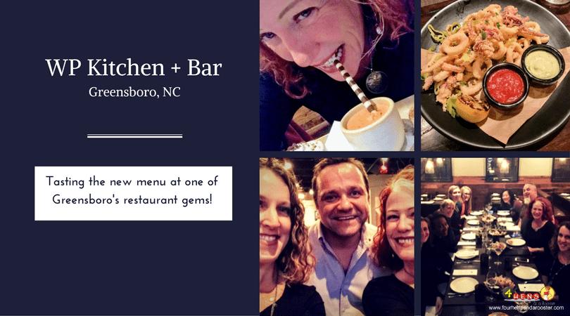 WP Kitchen and Bar Greensboro NC Pomegranate Bellini