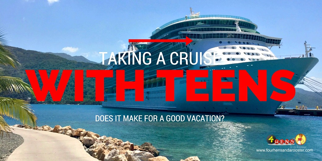 Thinking about taking a cruise with your teens or tweens? Make sure you read this first!