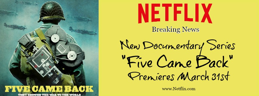Series premiere of Five Came Back