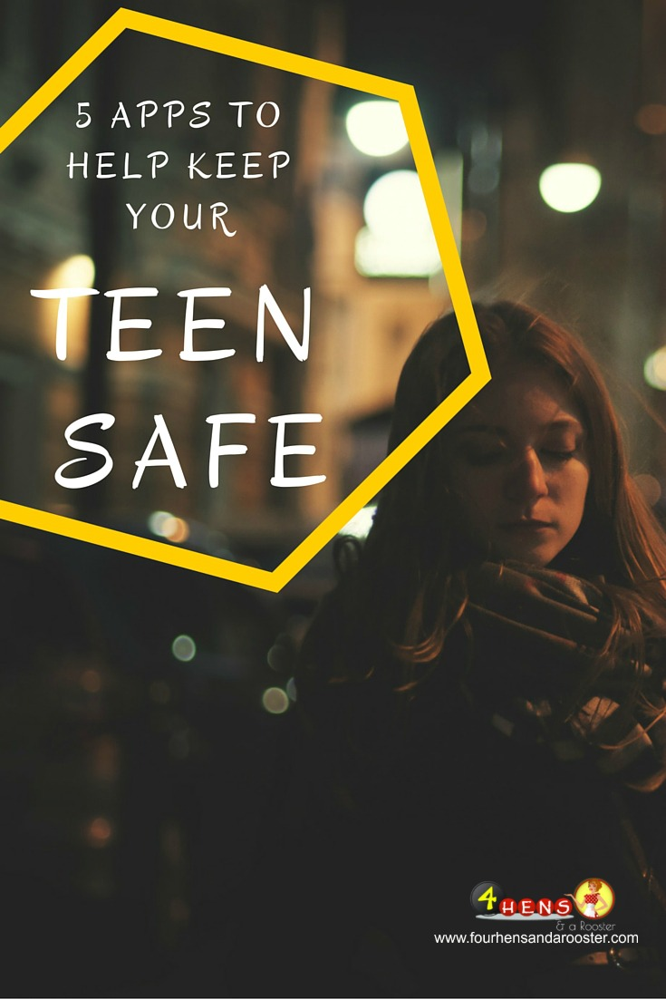 5 apps that will help keep your teens and whole family safe when they're away from home.