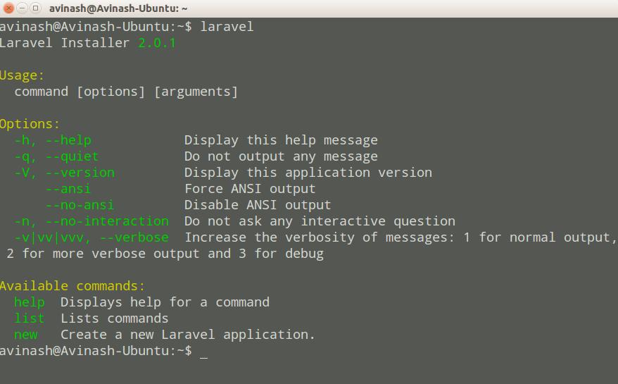 Install Laravel Framework on Ubuntu- justlaravel.com