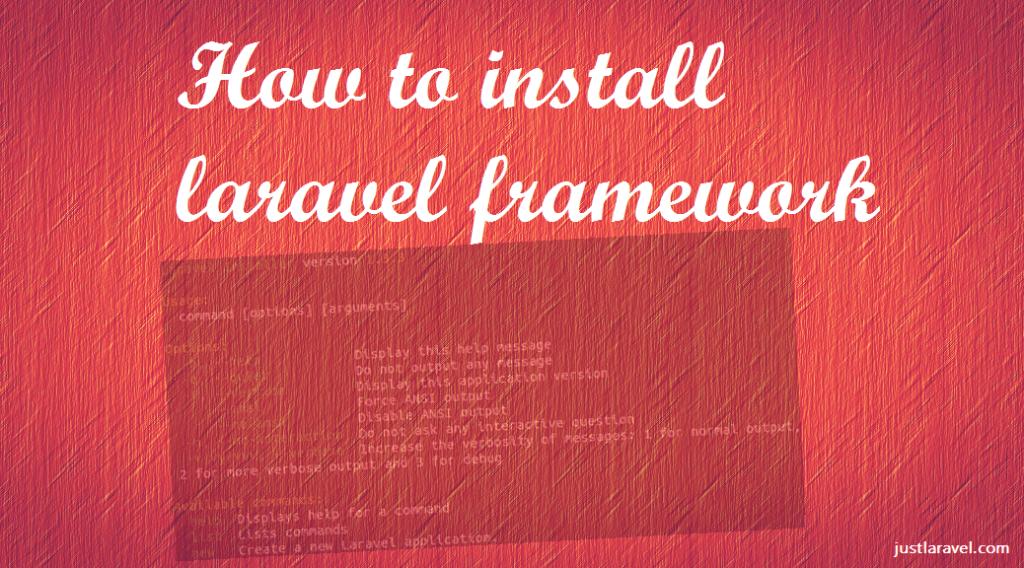 Install Laravel Framework