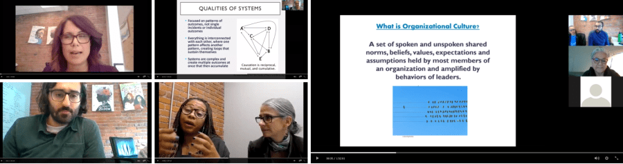 Screenshots from REJI Webinars