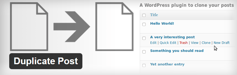 Duplicate Post Free Most Popular WordPress Plaugins