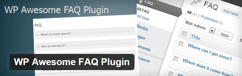 WordPress FAQ Plugin