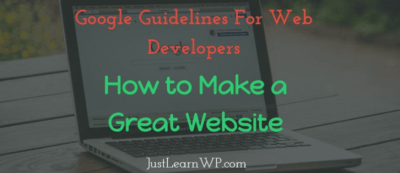 how to make your website google friendly