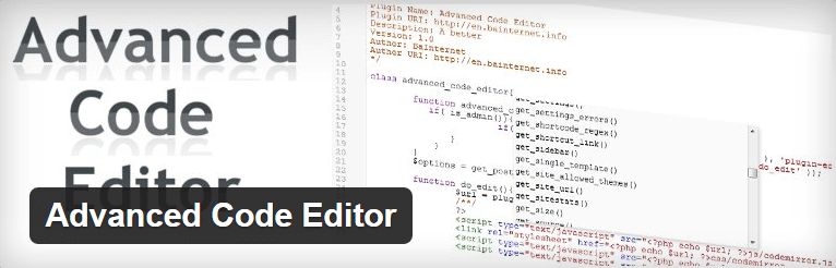 Advanced Code Editor - WordPress Theme Editor Plugin