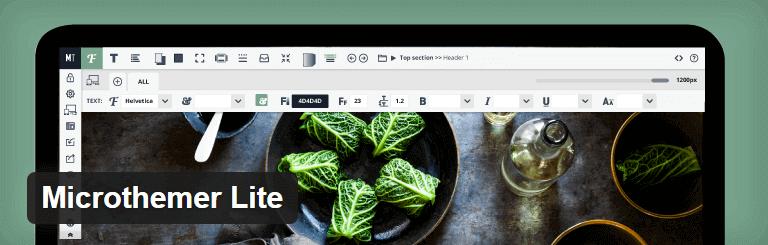 Microthemer Lite WordPress Theme Editor Plugin
