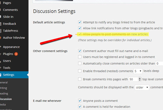 disable-comments-on-wordpress-blog