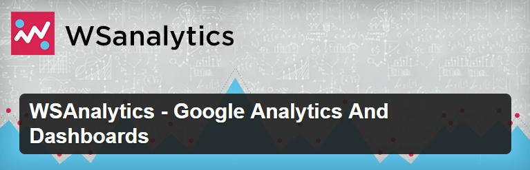 WSAnalytics - Google Analytics And Dashboards WordPress Plugins