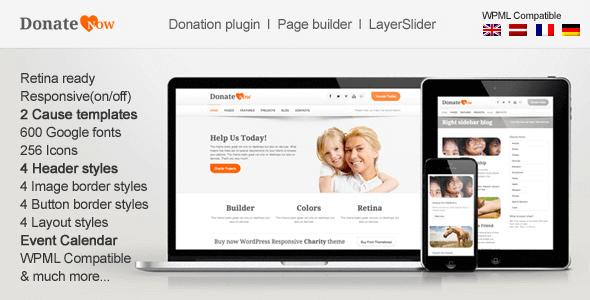 DonateNow | wordpress themes for charity websites