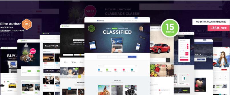 ClassiAds WordPress Theme