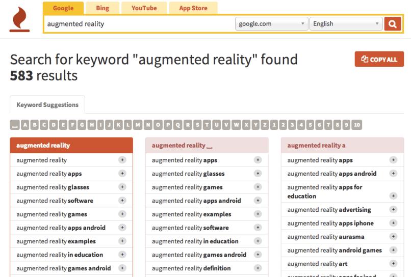 keywordtool io free and best SEO tools