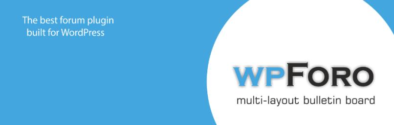 wpForo Forum WordPress Plugins