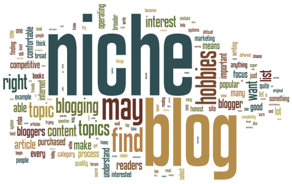 Niche blogging keeps you focused