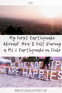My Earthquake Story: How I felt During an M6.6 Earthquake in Chile