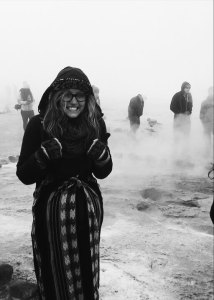 Standing at the Geysers in the Atacama Desert   Where Should I Study Abroad? How I Chose to Study Abroad in Chile