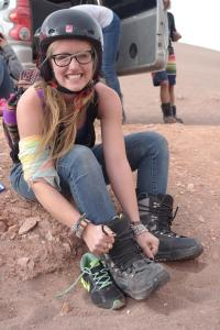 Where Should I Study Abroad   How I Chose to Study Abroad in Chile   Sand Boarding in the Atacama Desert