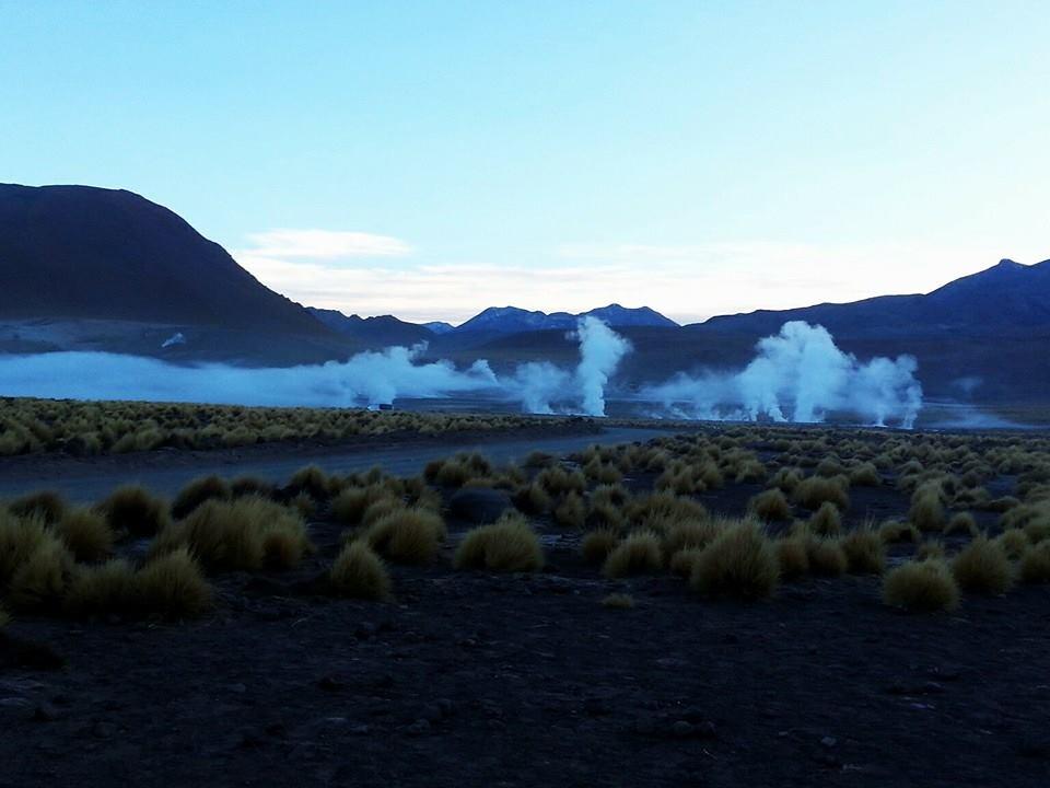 Desert Geysers Atacama Desert