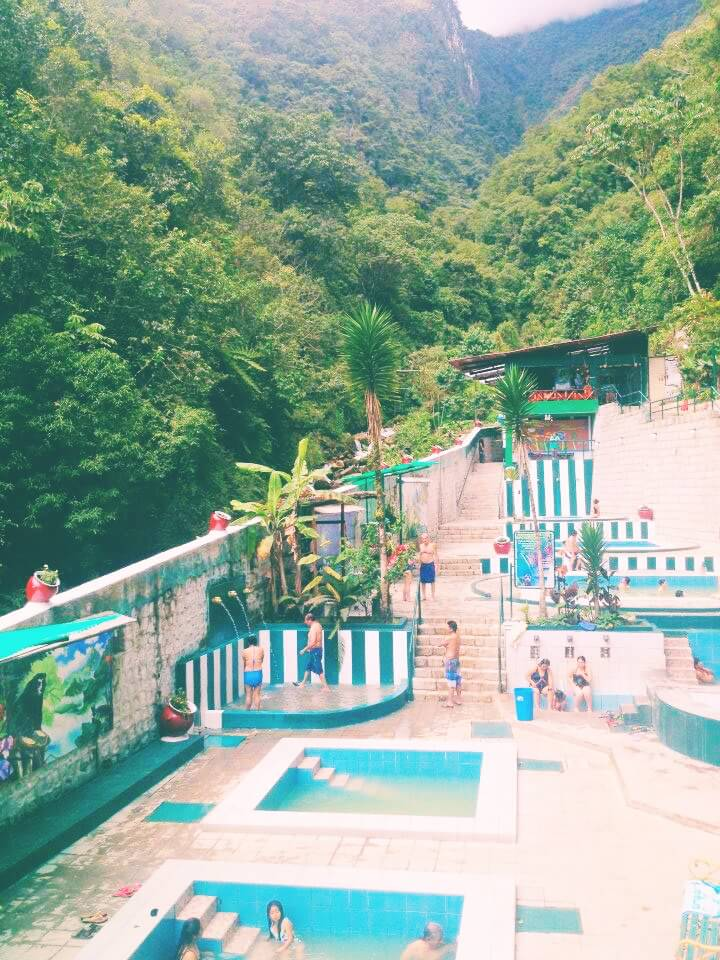 Aguas Calientes Hot Springs in Peru