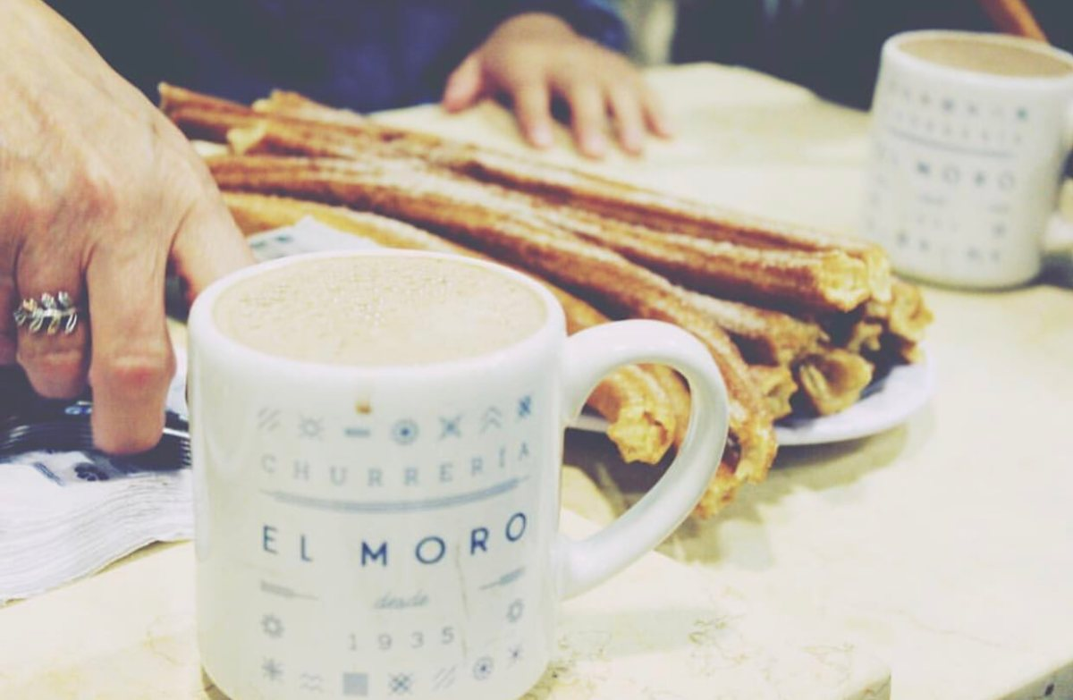 Churros at El Moro | Things to do in Mexico City