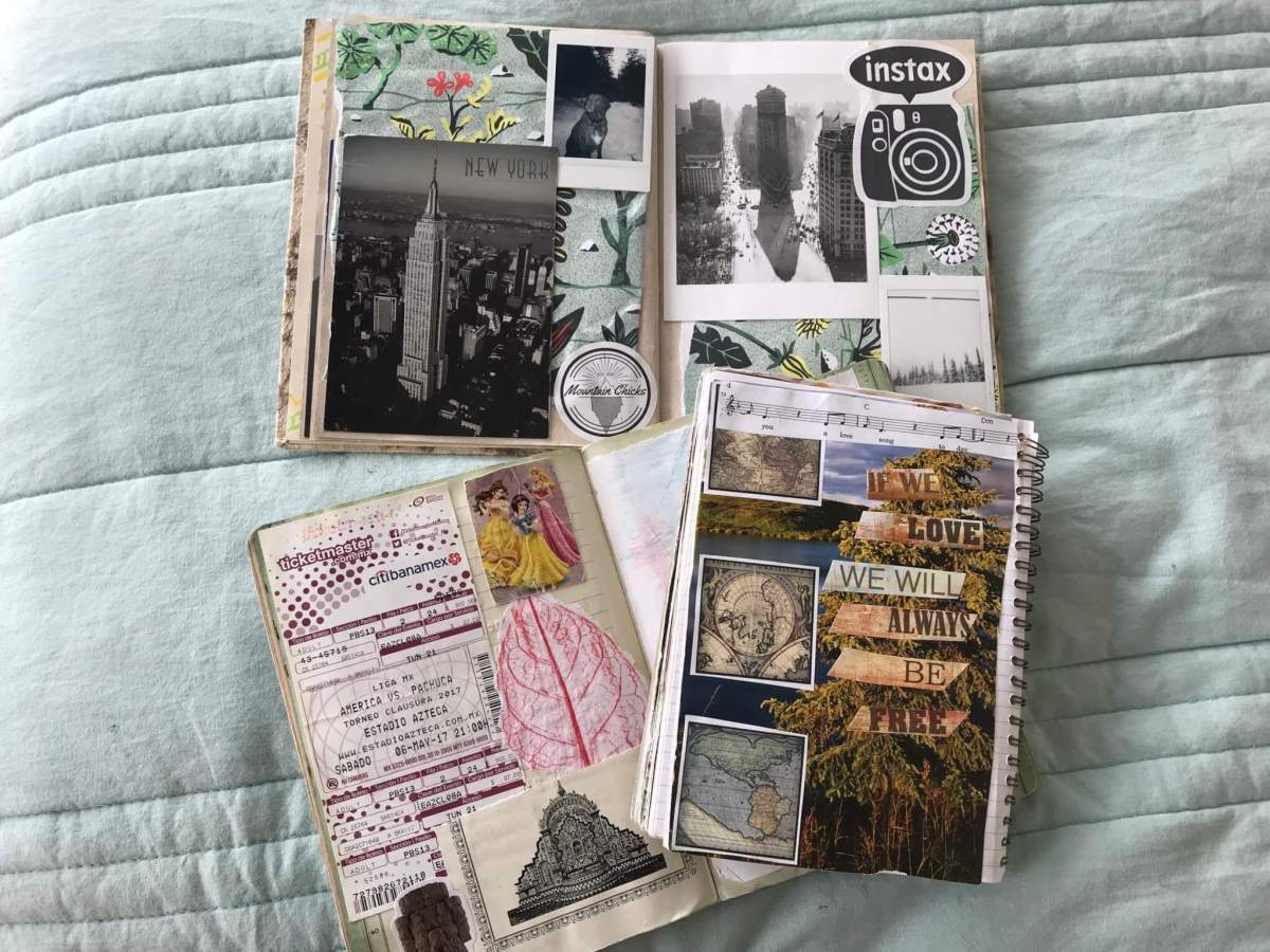 Museum and concert tickets in Travel Journal | Travel Journal Ideas