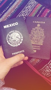Two Passports on a Patterned Blanket | How I Chose to Study Abroad in Chile