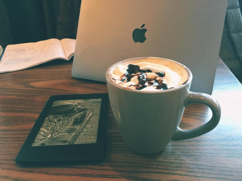 Where Should I Study Abroad   How I Chose to Study Abroad in Chile   Blogging in a Cafe