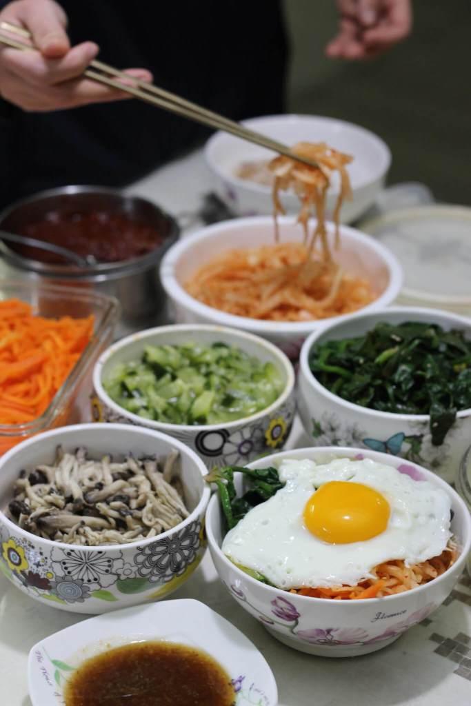South Korean Bibimbap