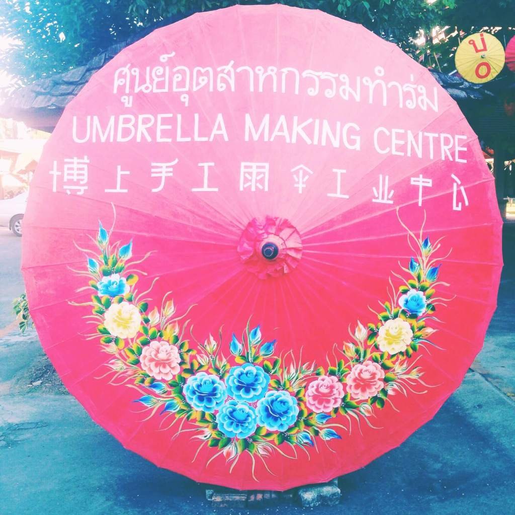 Thai Parasoll Making Factory