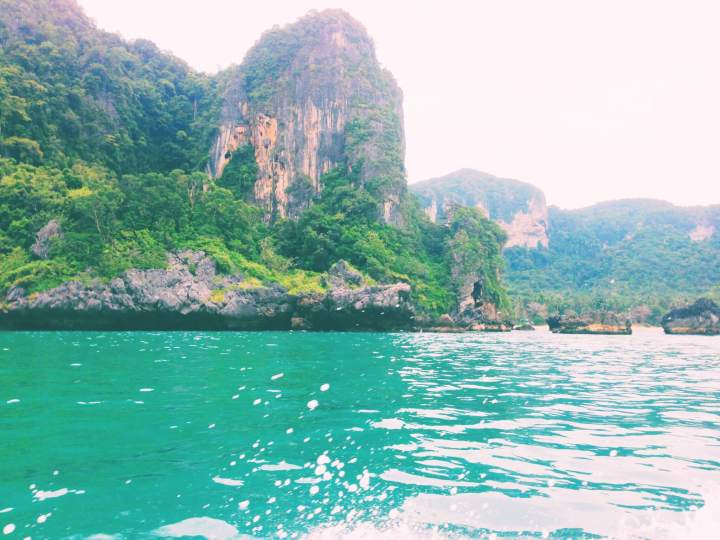 Bright Sea Green Water in Thailand