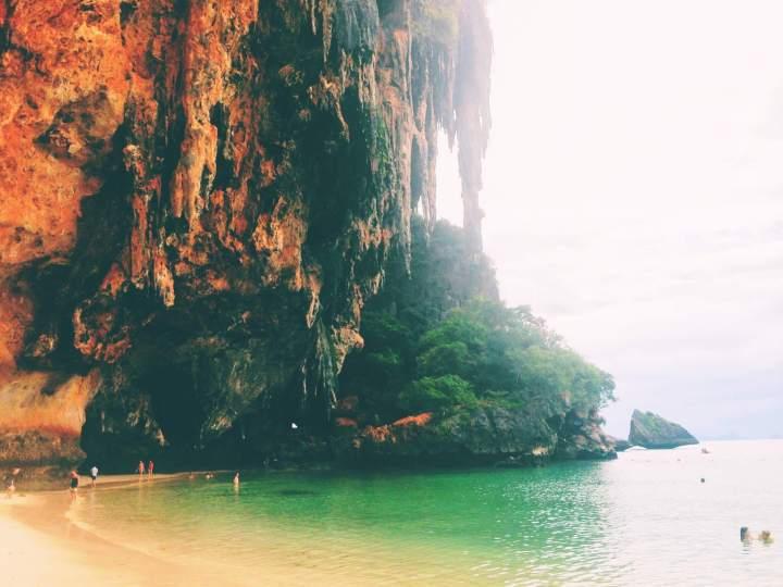 Beach Cliffs in Thailand