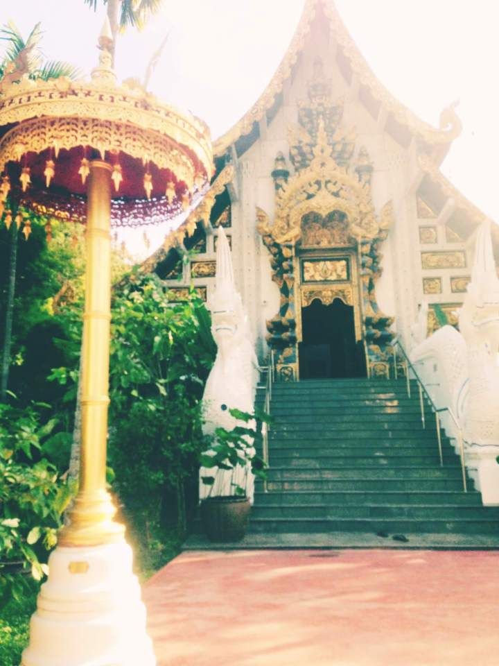 White Temple Entrance