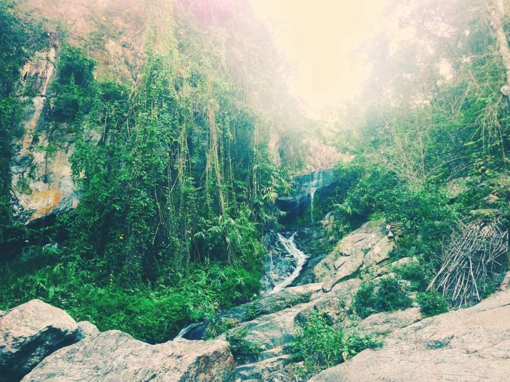 Waterfall in Chiang Mai, Thailand