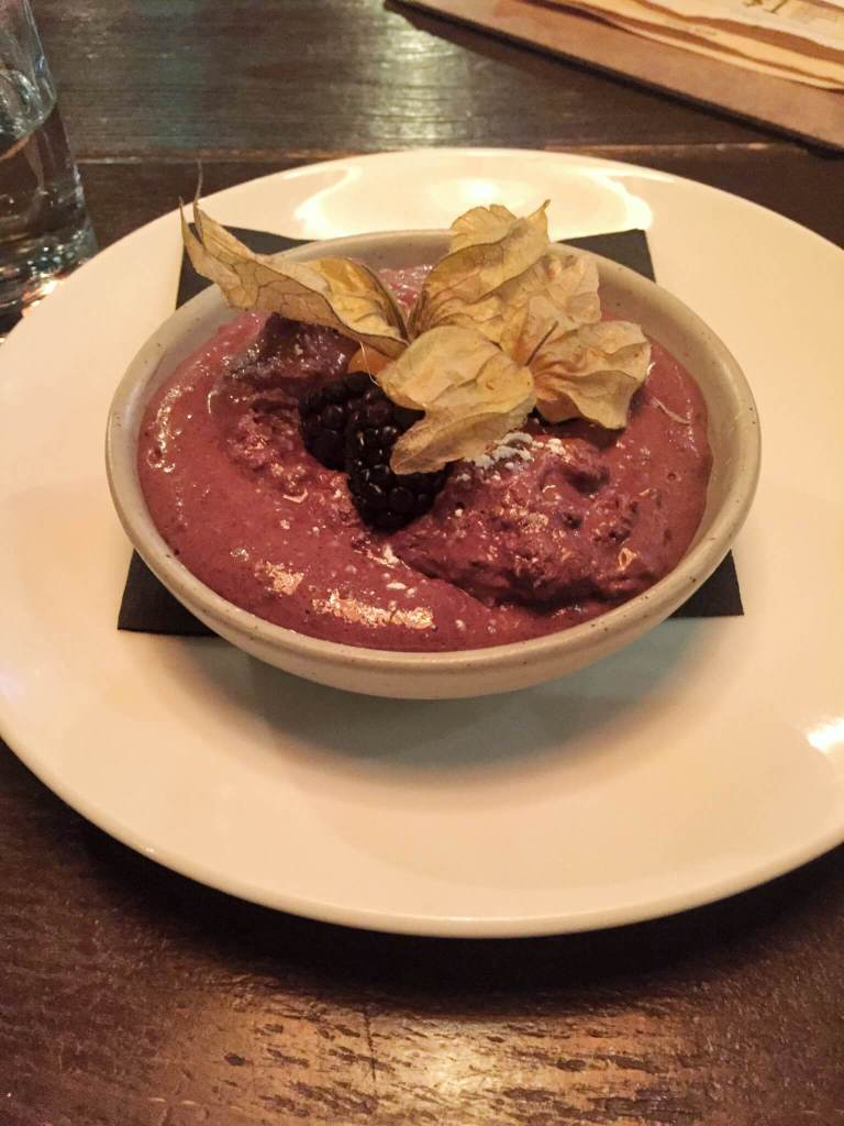 Chocolate mousse |The Best Vegetarian and Vegan Restaurants in Kelowna, BC