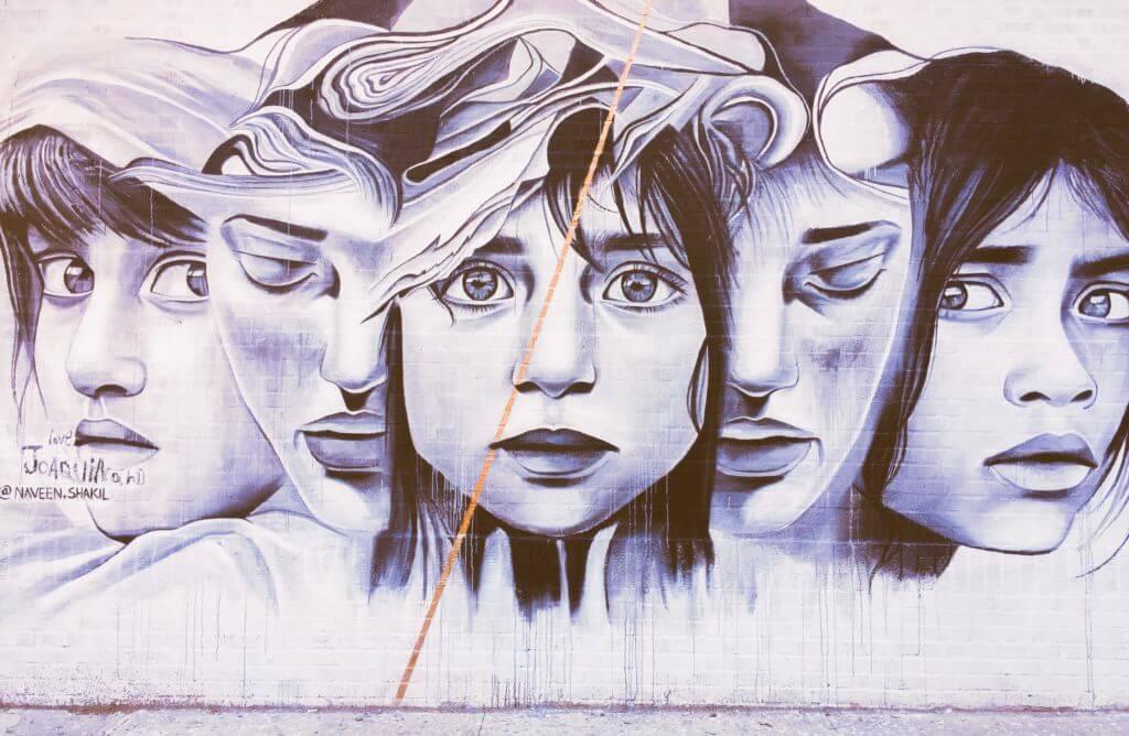 Refugee Children Street Art